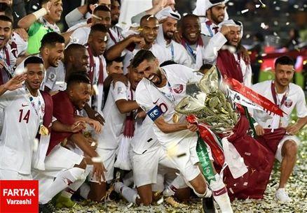 پاداش قهرمانی تیم ملی فوتبال قطر مشخص شد