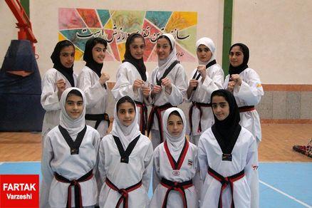 برترین های اوزان دهگانه دختر و پسر تکواندوکار مازندران مشخص شدند