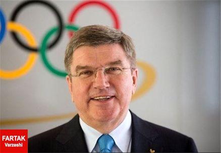 باخ از مرکز رسانهای بازیهای المپیک بازدید کرد
