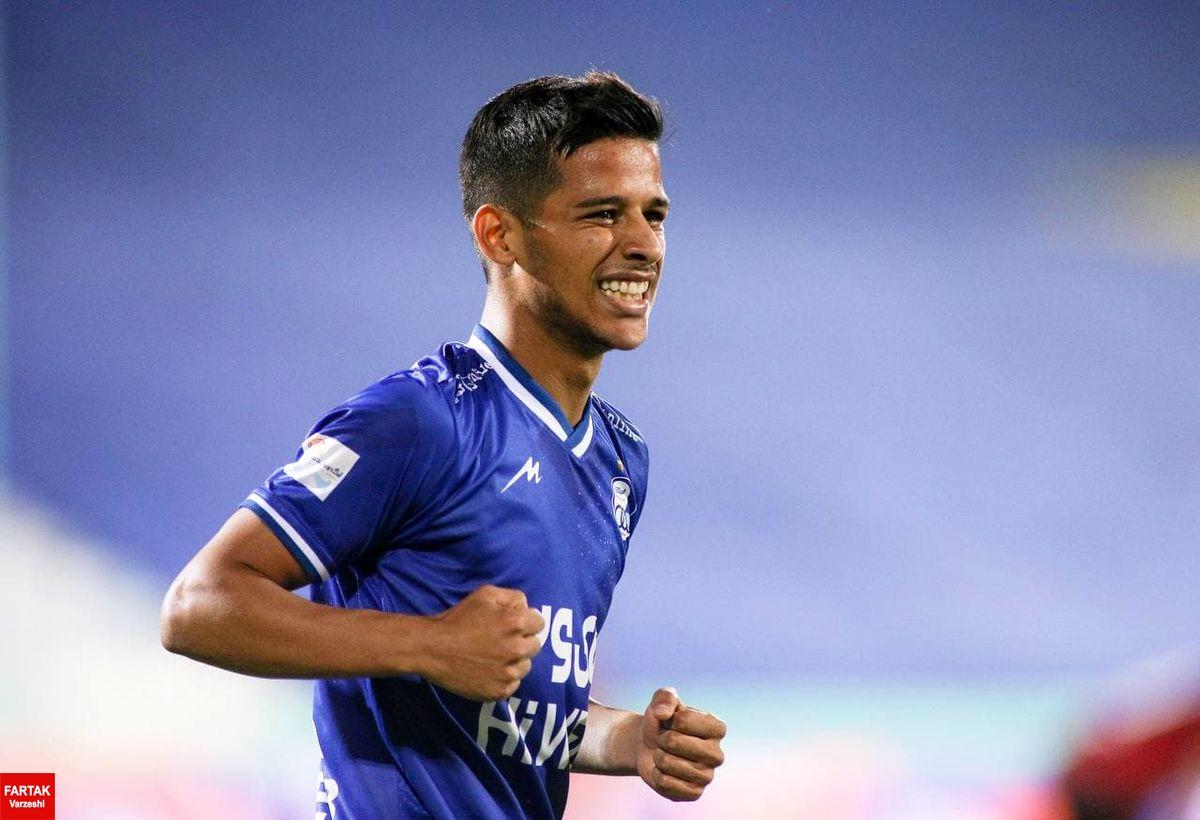 انتخاب گل قایدی به عنوان بهترین گل از راه دور لیگ قهرمانان آسیا