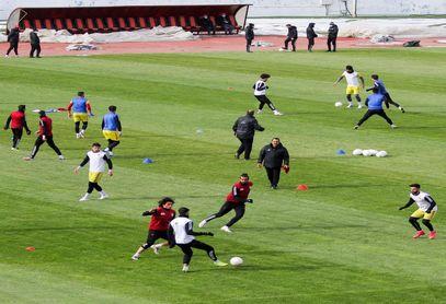 برگزاری تمرین امروز (پنجشنبه) تیم فوتبال تراکتور در ورزشگاه یادگار امام (ره) تبریز