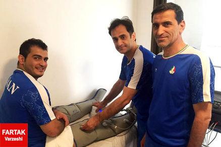 نوروزی: هیچ ورزشکار ایرانی دچار بیماری و مصدومیت نیست