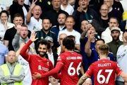 لیگ برتر انگلیس| لیورپول با یک پیروزی قاطعانه خانه لیدز را ترک کرد