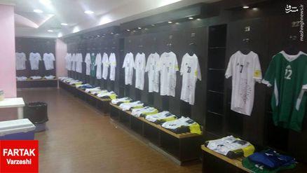 عکس/ رونمایی از پیراهن تیم ملی