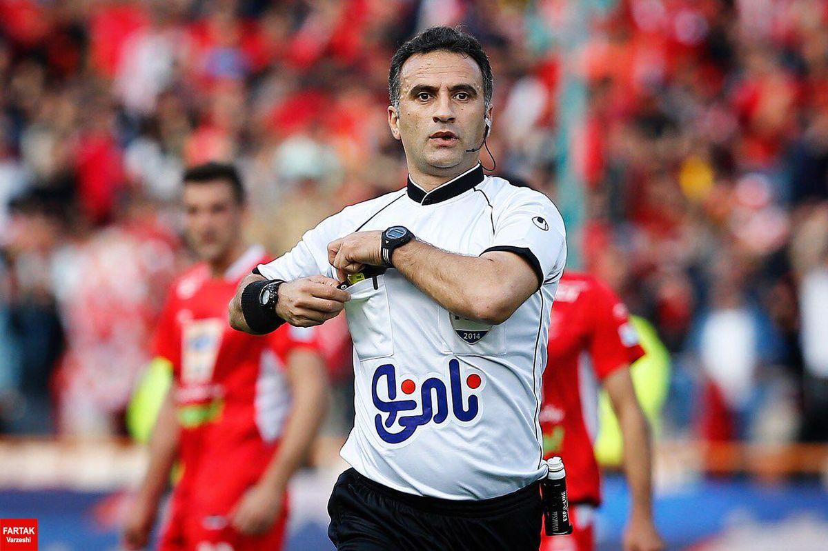 قضاوت یک داور در 2 بازی هفته هفتم لیگ برتر