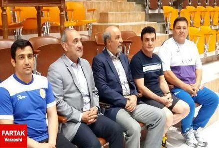 وزیر ورزش وجوانان در اردوی تیم ملی کشتی فرنگی حاضر شد