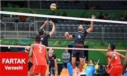گزارش زنده؛ ایران 2  مصر0/ ست سوم ایران21 مصر15