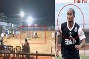 فیلم/مرگ غیرمنتظره فوتبالیست در داخل زمین