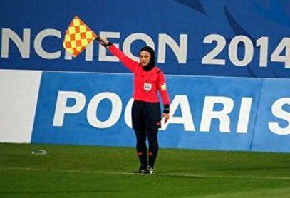 اشکهای داور بین المللی فوتبال بانوان پس از برکناری از قضاوت
