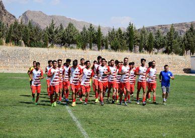 تصاویر / تمرینات تیم فوتبال خیبر خرم آباد