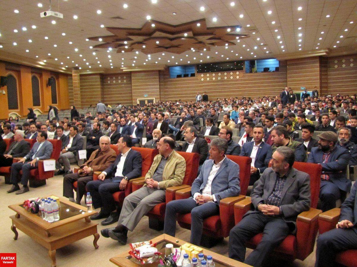 مراسم برترین های فوتبال استان تهران در سال ۹۷ برگزار شد