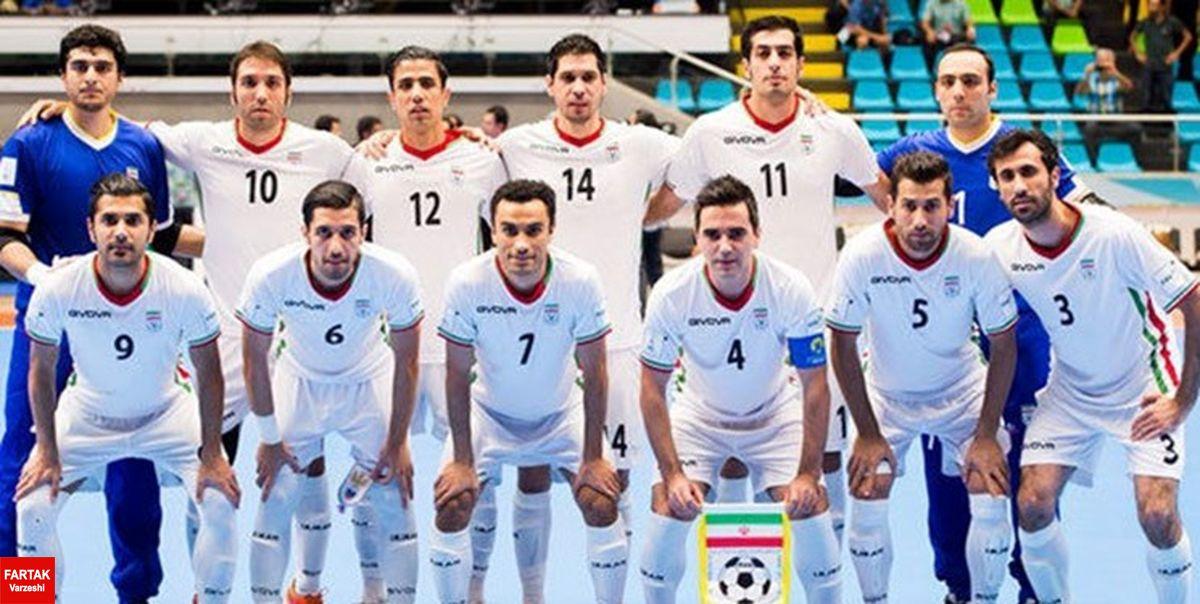 زمان برگزاری تیم ملی فوتسال در رقابتهای تایلند مشخص شد