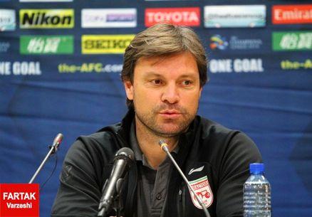 ساغلام: می خواهیم با پیروزی لیگ قهرمانان آسیا به پایان برسانیم