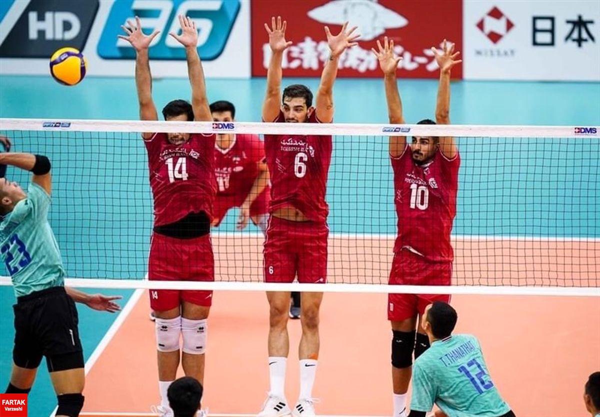 والیبال قهرمانی جهان  حریفان تیم ملی ایران مشخص شدند