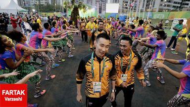 گزارش تصویری؛ استقرار ورزشکاران در دهکدهی المپیک
