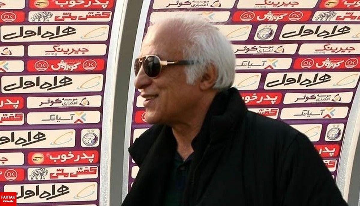 عبداللهی:هنوز با جپاروف بحث مالی نداشته ایم/منصوریان بختیار رامی خواهد