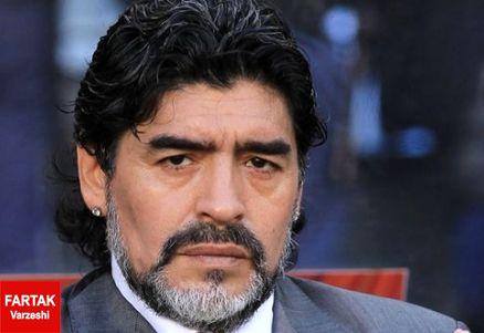 واکنش عجیب مارادونا به پنالتی جنجالی رئالی ها