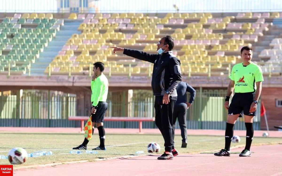 مربی تیم فوتبال مس کرمان: بازیکنان شرح وظایف خود را خیلی خوب انجام دادند