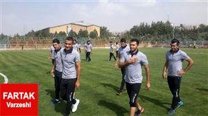 تمرین استقلال خوزستان در غدیر