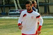 احمد نوراللهی در اردوی تراکتور حاضر شد