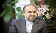 وزیر ورزش در کرمانشاه از پروژه های درحال ساخت بازدید کرد!