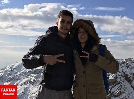 بلایی که سر قهرمان سابق تیم ملی تکواندوی ایران در مراسم خواستگاریش افتاد!!