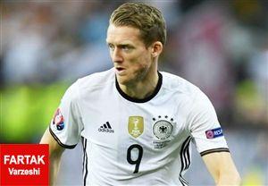 شورله از فهرست تیم ملی آلمان خط خورد