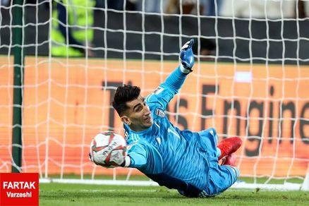 بیرانوند: پرسپولیس امسال یک جام خواهد آورد/  در لیست تیم ملی هیچکس ثابت نیست