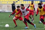 تمرین سبک پرسپولیسی ها در ورزشگاه شهید کاظمی