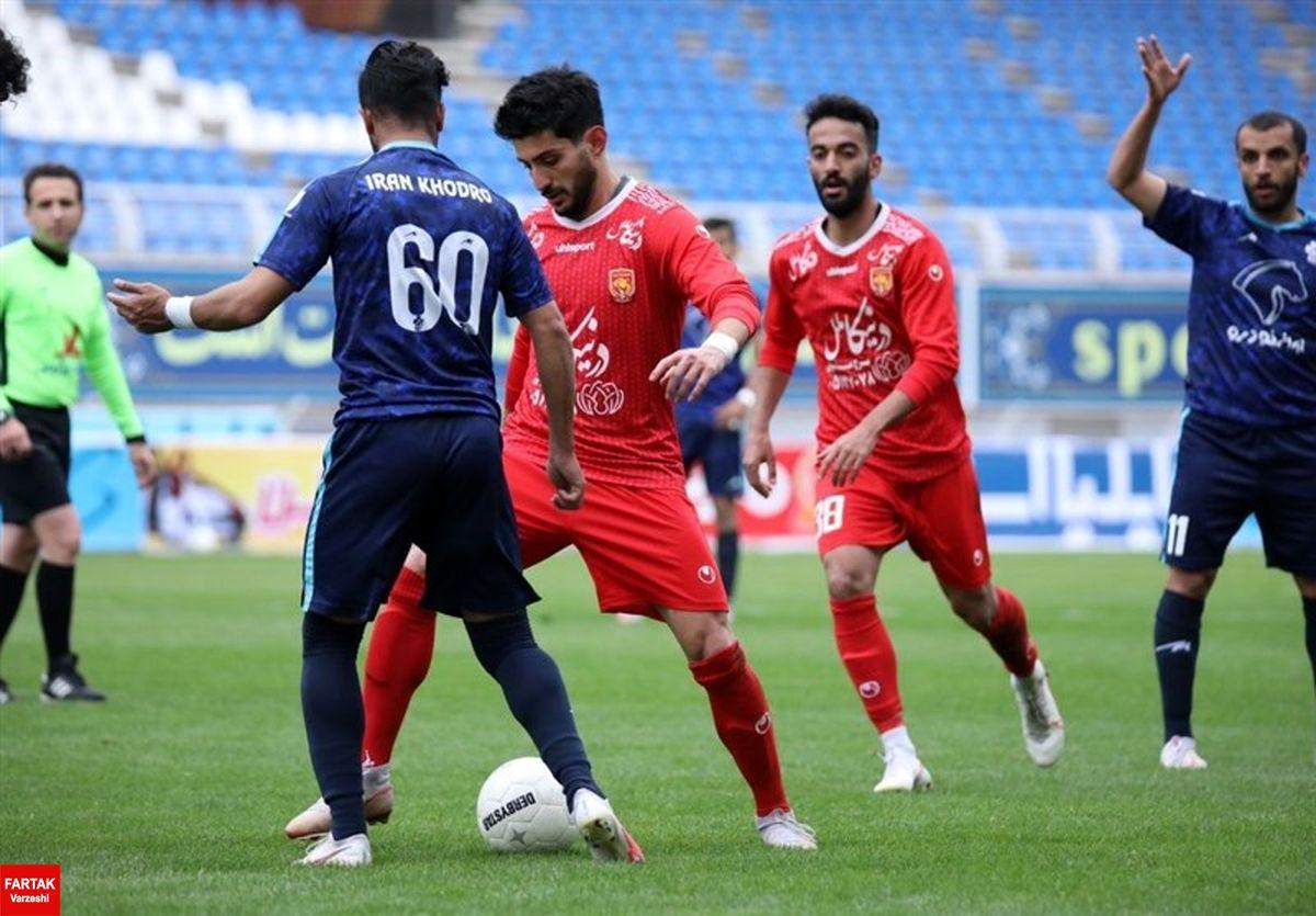 لیگ برتر فوتبال| شهر خودرو با ۲ گل از پیکان سبقت گرفت