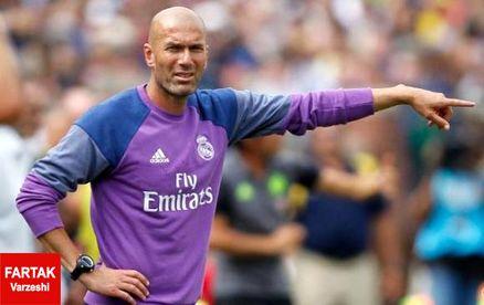 زیدان: رونالدو به زودی به مادرید برمیگردد