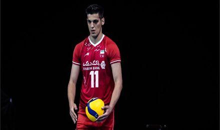 لیگ ملتهای والیبال  ستارهای به نام کاظمی/ صابر بازهم درخشید