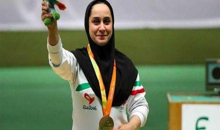 بانوی ایرانی قهرمان جام جهانی تیراندازی ۲۰۲۱ امارات شد