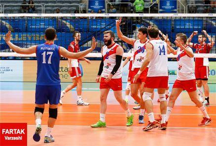 لیگ جهانی والیبال/ صربستان بامداد امروز وارد تهران می شود