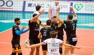 بازی درخشان لژیونرهای والیبال ایران در رقابت های اروپایی