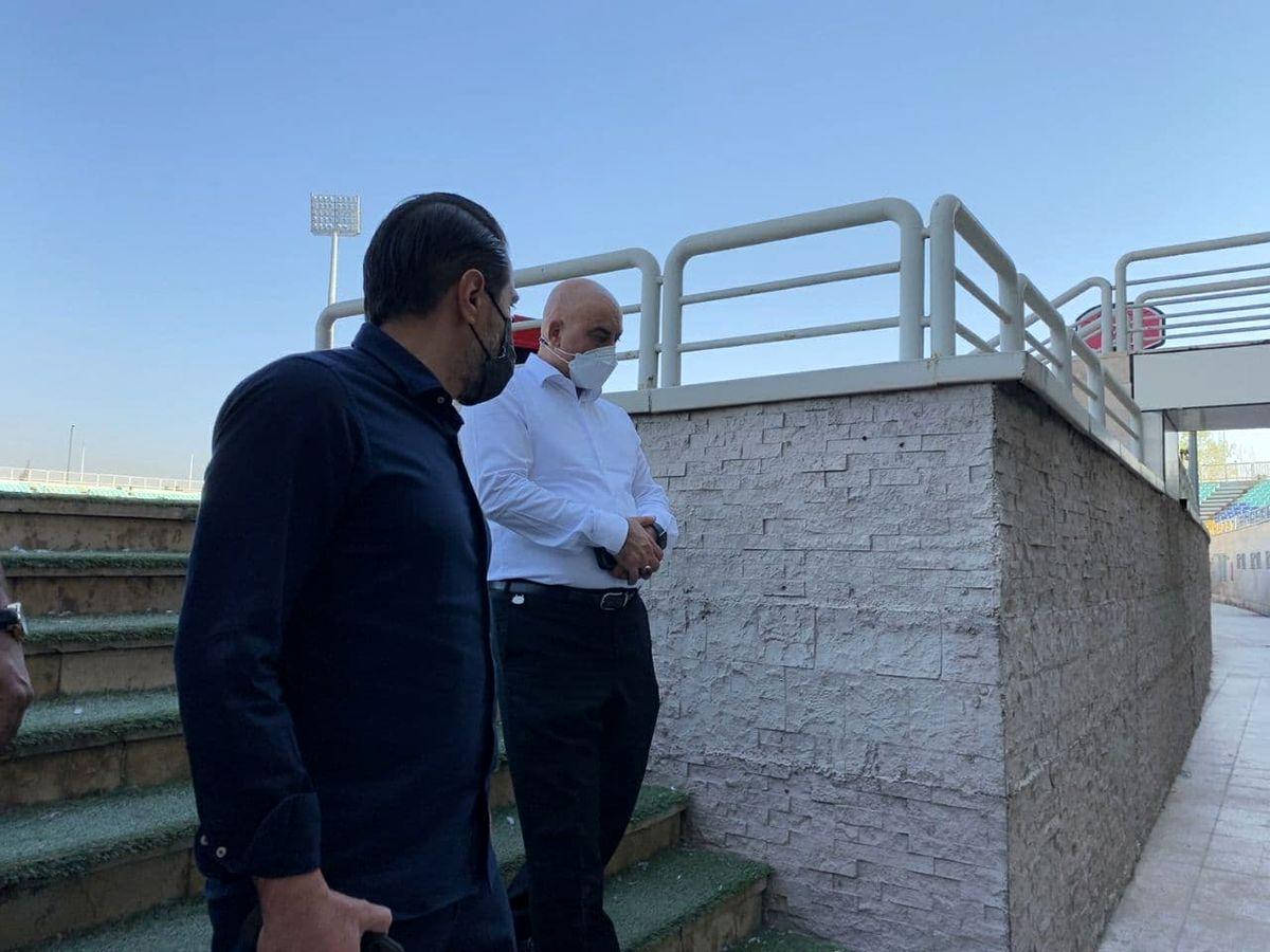 استارت پرسپولیس برای توسعه استادیوم شهید کاظمی