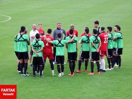 تیم ملی رنگ جام جهانی گرفت