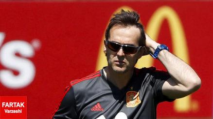 کنفرانس خبری اسپانیا تا ساعاتی دیگر؛  بمب جام جهانی، پیش از شروع آن منفجر خواهد شد؟
