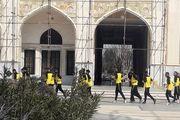 گزارش تصویری : تمرین شهرداری بم پیش از دیدار برابر مقاومت تهران در جوار مرقد امام خمینی (ره)
