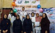 تکواندوکاران خردسال کرمانشاه پیکار کردند