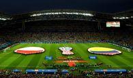 تحقیر لهستان مقابل کلمبیا به روایت تصویر