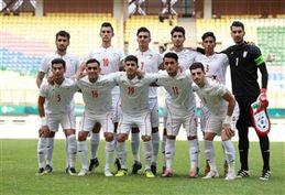 گرم کردن بازیکنان تیم ملی امید قبل از بازی با قطر + فیلم