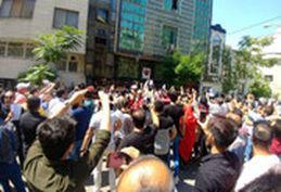 تجمع پرسپولیسیها علیه مدیریت باشگاه در حمایت از برانکو+فیلم