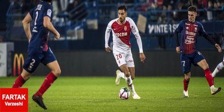 پیروزی دشوار موناکو مقابل رن
