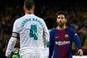 اضطراب در بارسلونا؛ مسی در مسیر سرخیو راموس