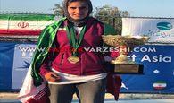 مشکات الزهرا صفی، قهرمان تنیس سطح دو دختران آسیا شد