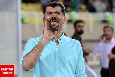 یزدی: نساجی با این تماشاگر باید 5 بر صفر از حریف جلو باشد