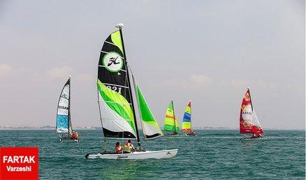 احمدی در پایان دور سوم در رده دوم قرار گرفت