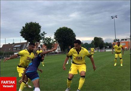 شکست تیم پولادی برابر الوصل امارات در اردوی آلمان