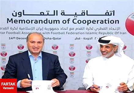 رییس فدراسیون فوتبال قطر تماشاگر ویژه فینال؛ مذاکره درمورد میزبانی جام جهانی 2022